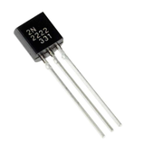 ON Semiconductor 2N2222 NPN TO-92 NPN Silicon Epitaxial Planar Transistor (1 Piece)