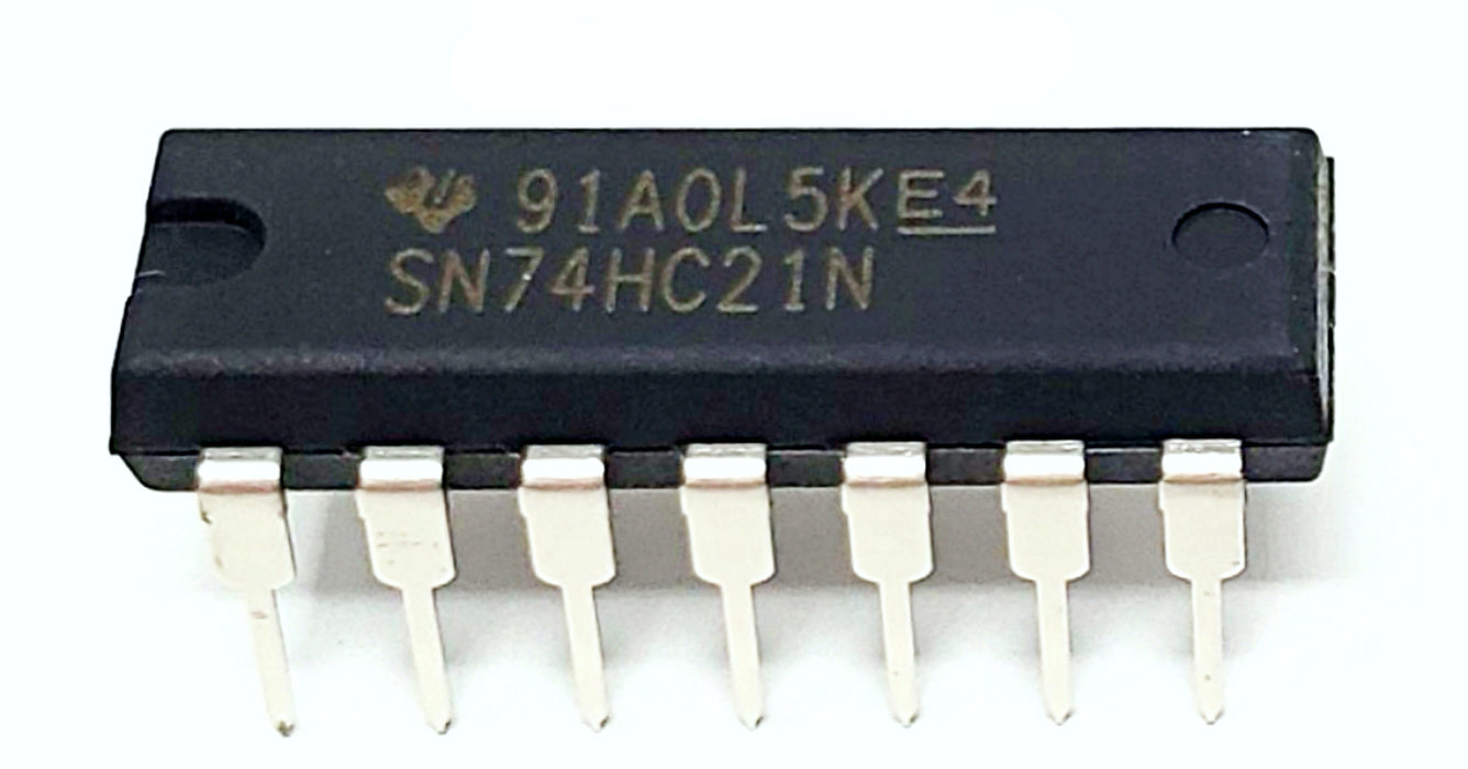 SN74HC21N 74HC21 Dual 4-Input Positive-and Gates Breadboard-Friendly IC DIP-14