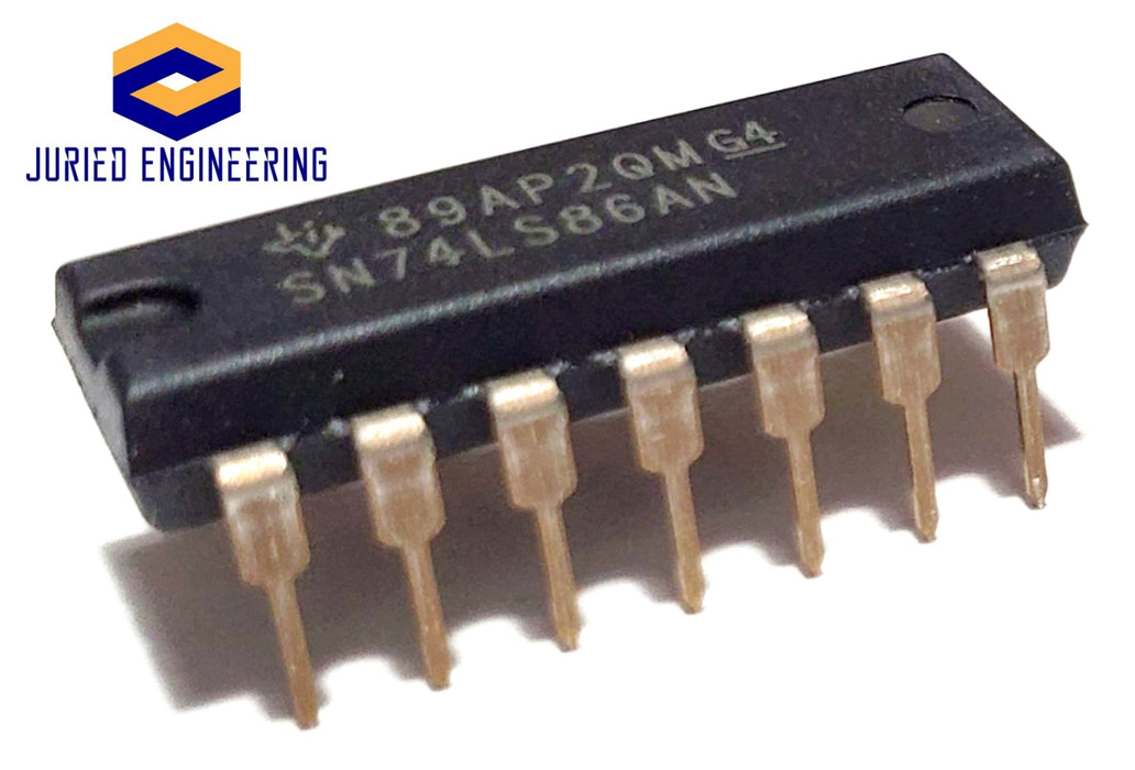SN74LS86AN SN74LS86A SN74LS86 Quad 2-Input Exclusive-OR Gates Breadboard-Friendly IC DIP-14