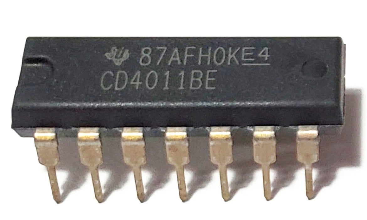CD4011BE CD4011 - CMOS Quad 2-Input NAND Gate