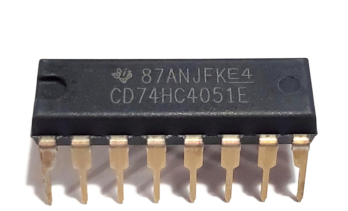 CD74HC4051E CD4051 High-speed CMOS 8-channel Analog Multiplexer