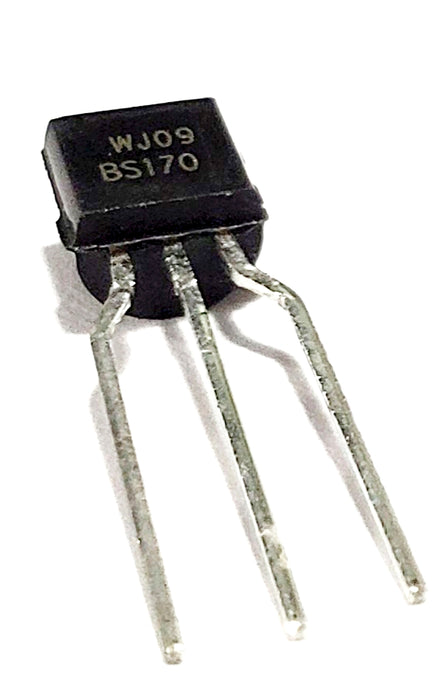 BS170 Small Signal MOSFET 500 mA, 60 Volts N-Channel Enhancement Mode Field Effect Transistor TO−92 (TO−226)