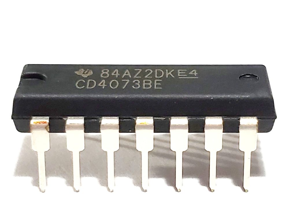 CD4073BE CD4073 4073 CMOS Triple 3-Input and Gate Breadboard-Friendly IC DIP-14