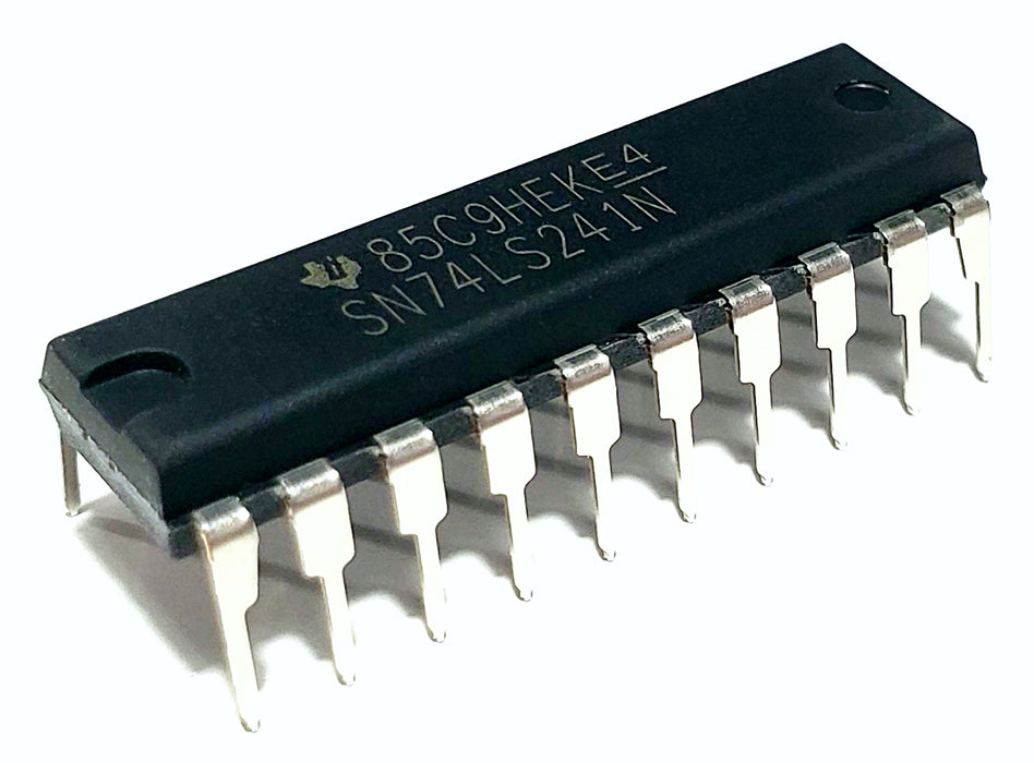 SN74LS241N 74LS241 Octal Buffers And Line Drivers DIP-20 Breadboard-Friendly IC