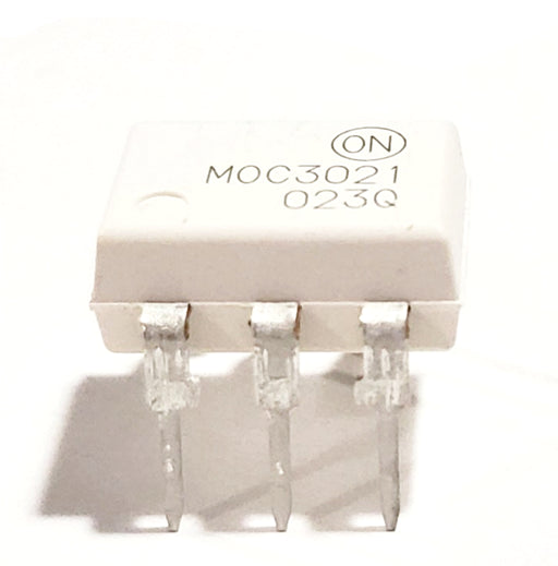 MOC3021M MOC3021 DIP6 Through Hole Random-Phase Triac Driver Output Optocoupler (400 V Peak) Phototransistor Opto Isolator Breadboard-Friendly
