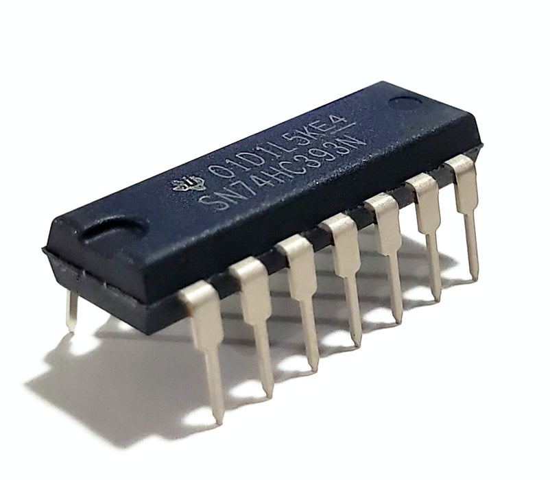 SN74HC393N 74HC393 Dual 4-Bit Binary Counters IC