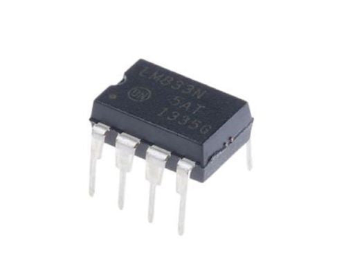 ON Semiconductor LM833NG LM833 - Dual Operational Amplifier (1 Piece)