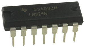 Texas Instruments LM324N LM324 - Low Power Quad Op-Amp (Pack of 1)