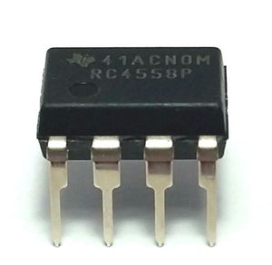 Texas Instruments RC4558P RC4558 Dual Operational Amplifier DIP-8 (Pack of 1)