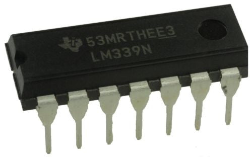Texas Instruments LM339N LM339 - Low Power Quad Voltage Comparators (Pack of 1)