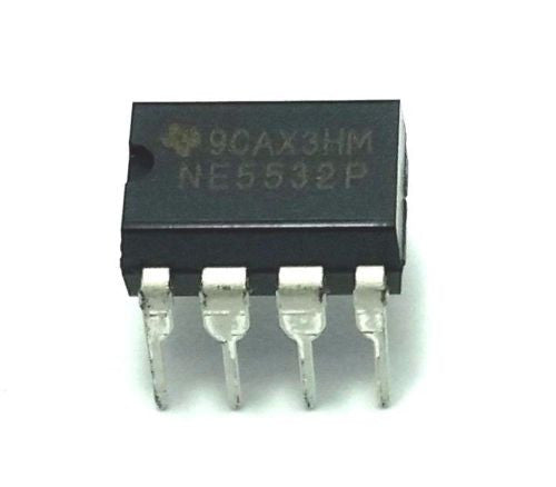Texas Instruments NE5532P NE5532 - Dual Operational Amplifier (Pack of 1)