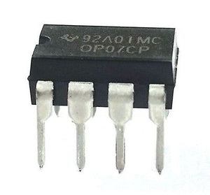 Texas Instruments OP07CP OP07 - Low Offset Oprational Amplifier (Pack of 1)