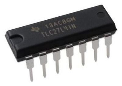 Texas Instruments TLC27L4IN TLC27L4 Quad Precision uPower Op Amp (Pack of 1)