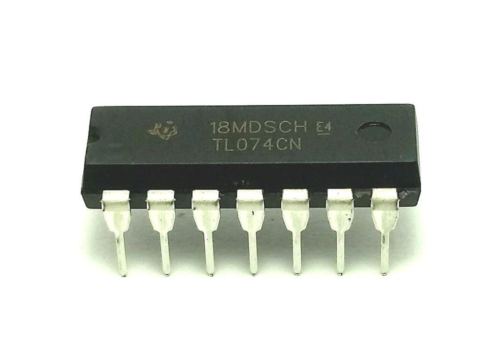TL074CN TL074 Quad JFET Operational Amplifier
