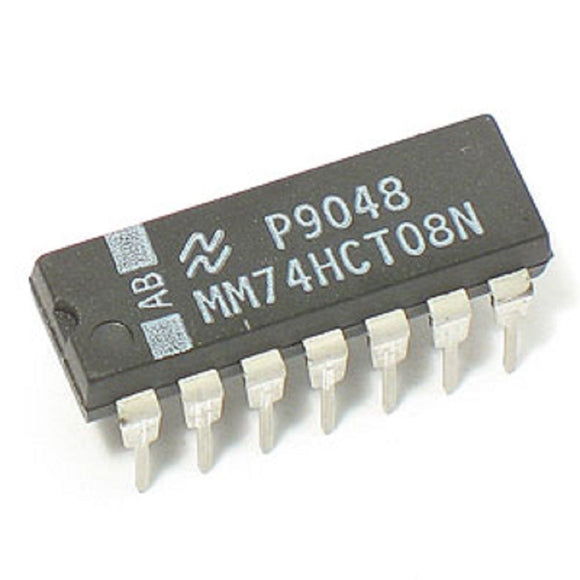 Fairchild MM74HCT08N 74HCT08N 74HCT08 - Quad 2-Input AND Gate (Pack of 1)