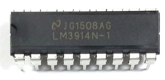 National Semiconductor LM3914N-1 LM3914 - Display Driver DIP-18 (1 Piece)