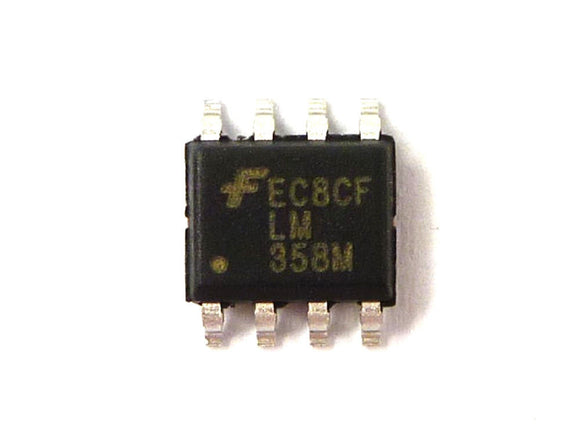 Fairchild Semiconductor LM358MX LM358 Dual Operational Amp SOP-8 (Pack of 1)