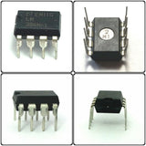 National Semiconductor LM386N-1 LM386 Low Power Audio Amplifier IC (Pack of 1)