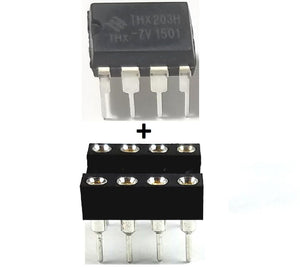 THX Micro Electronics THX203H -7V + Socket Power Management IC PWM DIP-8 (Pack of 1)