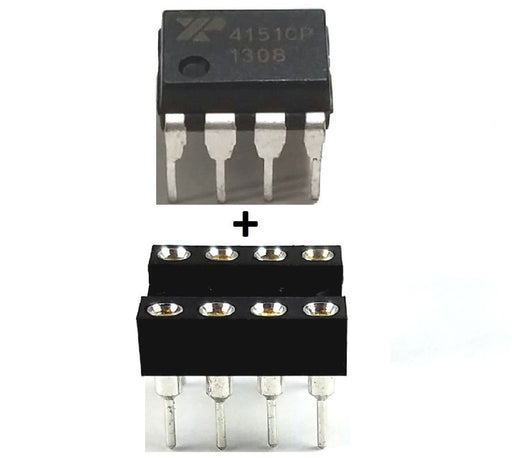 XR4151CP  XR4151 + Socket Voltage to Frequency Convertor