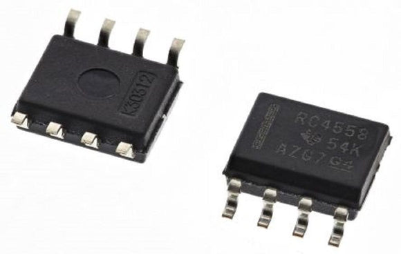 Texas Instruments RC4558D RC4558 Dual Operational Amplifier SOIC-8 (Pack of 1)