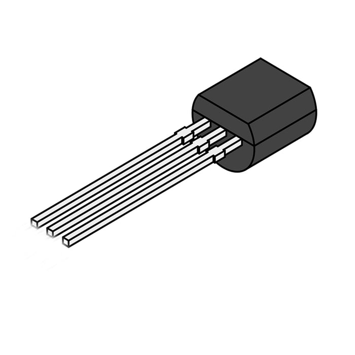2N3906 Bipolar (BJT) Single Transistor, High Speed Switching, PNP, 40 V, 250 MHz, 625 mW, 200 mA, 100 hFE TO-92