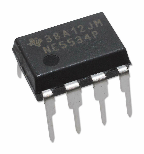 Texas Instruments NE5534P Low-Noise High-Speed Audio Operational Amplifier (1 Piece)