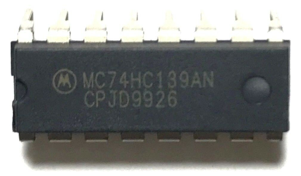 MC74HC139AN 74HC139 Dual 2-Line To 4-Line Decoders/Demultiplexers