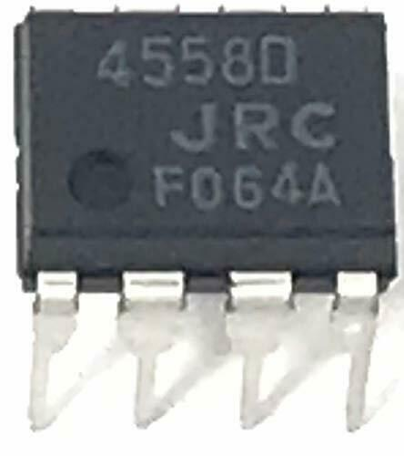 NJM4558D NJM4558 Dual Operational Amplifier DIP-8