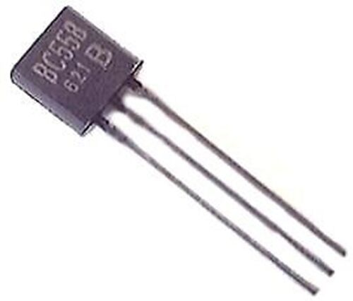 ON Semiconductor BC558B BC558 PNP TO-92 30V 100ma General Purpose Transistors (1 Piece)