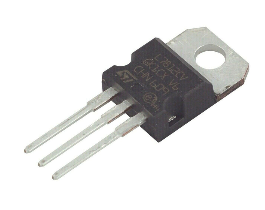 L7812CV Voltage Regulator IC REG LINEAR 5V 1.5A TO220AB