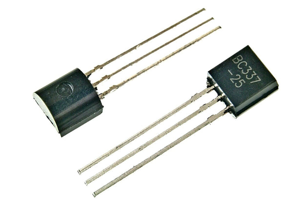 ON Semiconductor BC337-25 BC337 NPN TO-92 45V 800ma Amplifier Transistors Transistors (1 Piece)