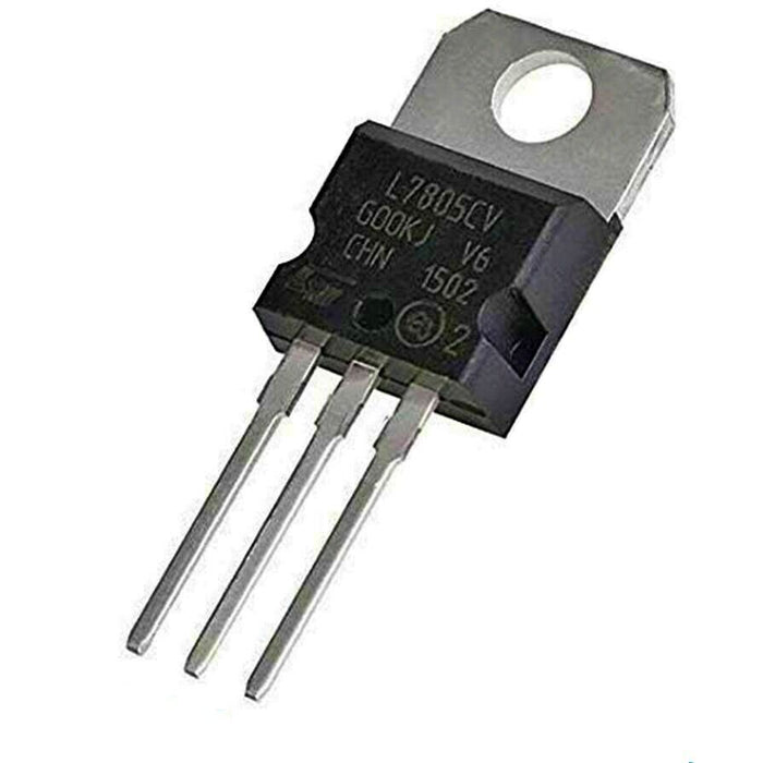 L7805CV Voltage Regulator IC REG LINEAR 5V 1.5A TO220AB