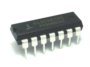 Intersil ICL8038CCPD ICL8038 Waveform Generator Oscillator DIP-14 IC (1 Piece)
