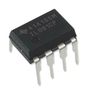 TL081CP High Slew Rate JFET-Input Operational Amplifier (1 Piece)