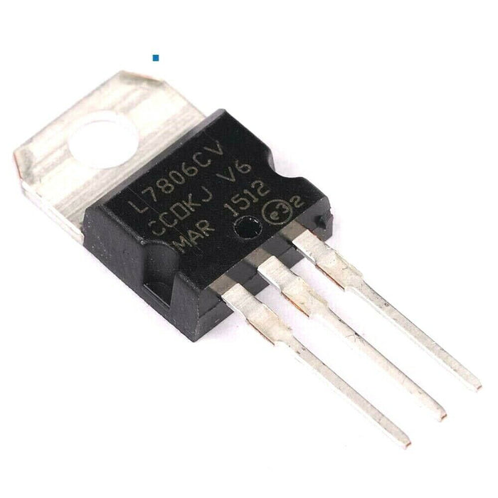 L7806CV Voltage Regulator IC REG LINEAR 5V 1.5A TO220AB