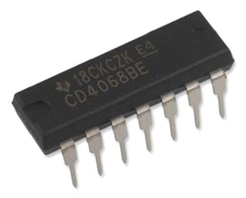 Texas Instruments CD4068BE CD4068 CMOS 8-Input NAND/AND Gate IC (1 Piece)