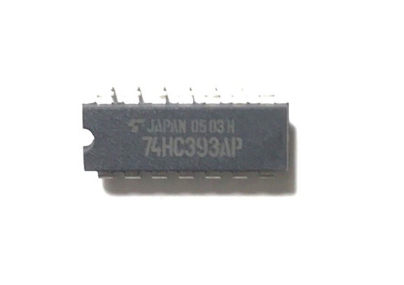 1PCS Toshiba 74HC393AP 74HC393 Dual 4-Bit Binary Counters - New IC