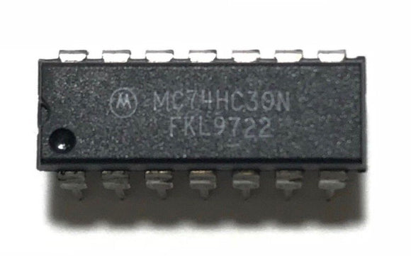 1PCS Motorola MC74HC30N 74HC30 High Speed CMOS Logic 8-Input NAND Gate - NEW IC