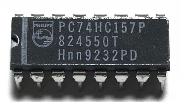 1PCS Philips PC74HC157P 74HC157 Quad 2-Line To 1-Line Data Selectors/Multiplex