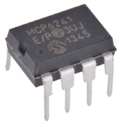 Microchip MCP6241-E/P MCP6241 Wide Bandwidth Operational Amplifier (Pack of 1)