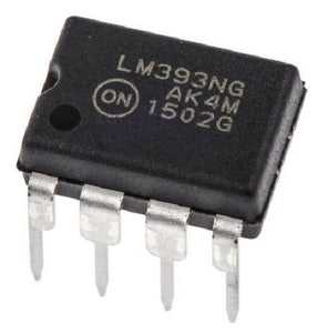 1PCS ON Semiconductor LM393 LM393NG Dual Differential Voltage Comparator New IC