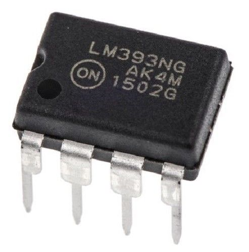 LM393 LM393NG Dual Differential Voltage Comparator IC