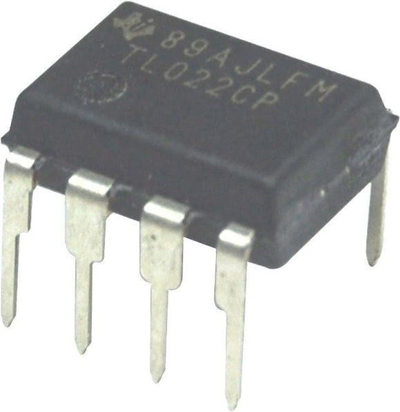 Texas Instruments TL022CP TL022 Dual Low-Power Op-Amp DIP-8 (Pack of 1)