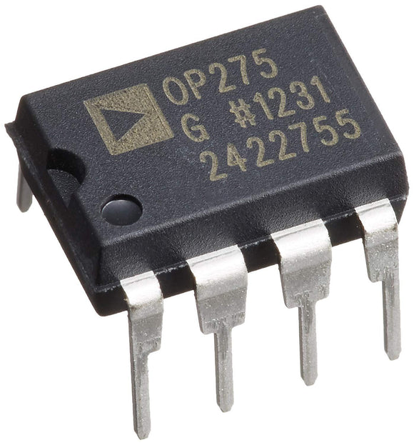 1PCS Analog Devices OP275GPZ OP275 Dual Bipolar/JFET, Audio Op Amp DIP-8 - NEW