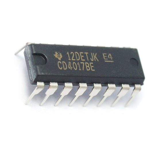 CD4017BE CD4017 CMOS Decade Counter with 10 Decoded Outputs