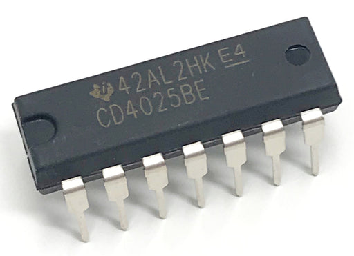 CD4025BE CD4025 CMOS Triple 3-Input NOR Gate