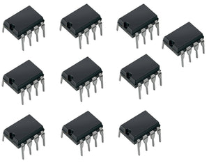 Op Amp Experimenter's Kit 3 - 10 Piece Bundle - DIP New IC