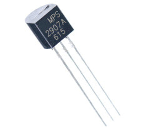 MPS2907A 2907 PNP TO-92 Silicon Epitaxial Planar Transistor (Pack of 25)