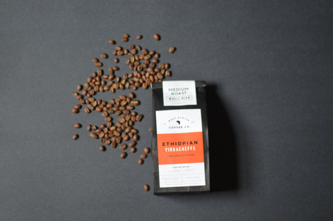Ethiopian Yirgacheffe Coffee, Medium Roast, Half Pound